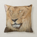Adorable Lion Throw Pillow