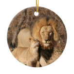 Lion and Cub Ornament