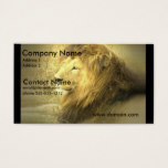 Lion Pride Business Card