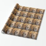 Lion Wrapping Paper